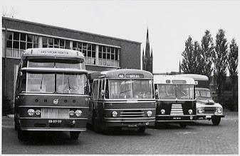Photo: 1960 Bus van BBA met nummer 903 bij de remise
