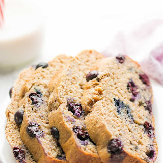 Whole Wheat Blueberry Buttermilk Banana Bread