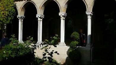 Photo: The medieval garden at the Cloisters