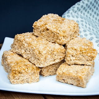 Salted Caramel Rice Krispies Treats Recipe
