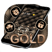 Gold Leather Crown Luxury Theme Android APK Download Free By Abby Theme Center
