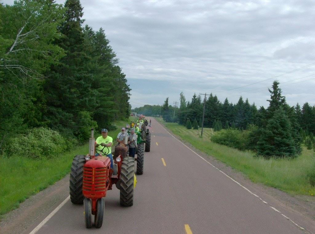 Tractor Ride June 27, 2010