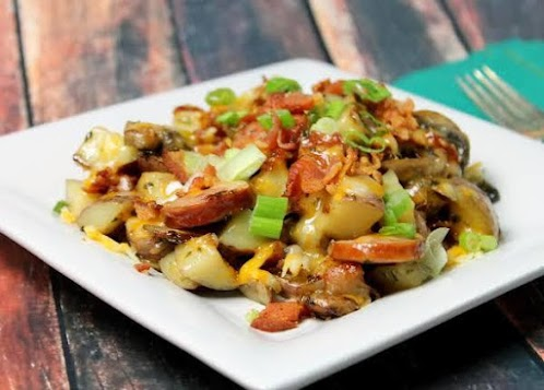 Loaded Fried Potatoes