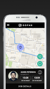 Gophr: Courier Delivery- screenshot thumbnail