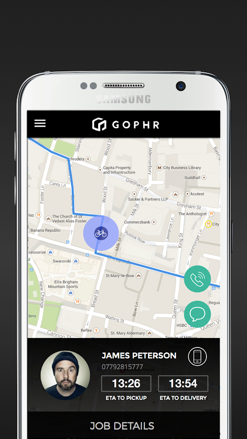 Gophr: Courier Delivery- screenshot
