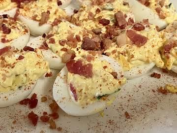 Southern Pimento Deviled Eggs