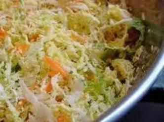 Russ's Cole Slaw (freezer Cabbage) Recipe