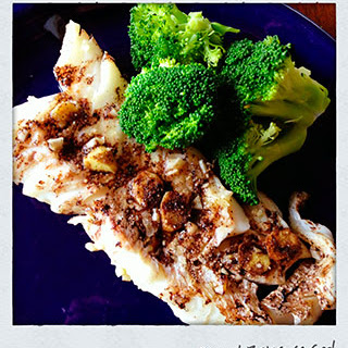 Baked Balsamic Cod.
