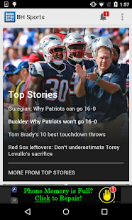 Boston Herald Sports- screenshot thumbnail