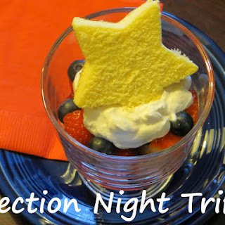Patriotic Election Night Trifle