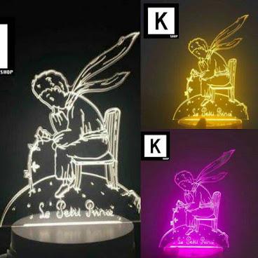 [新款] 小王子 LED 3D 燈