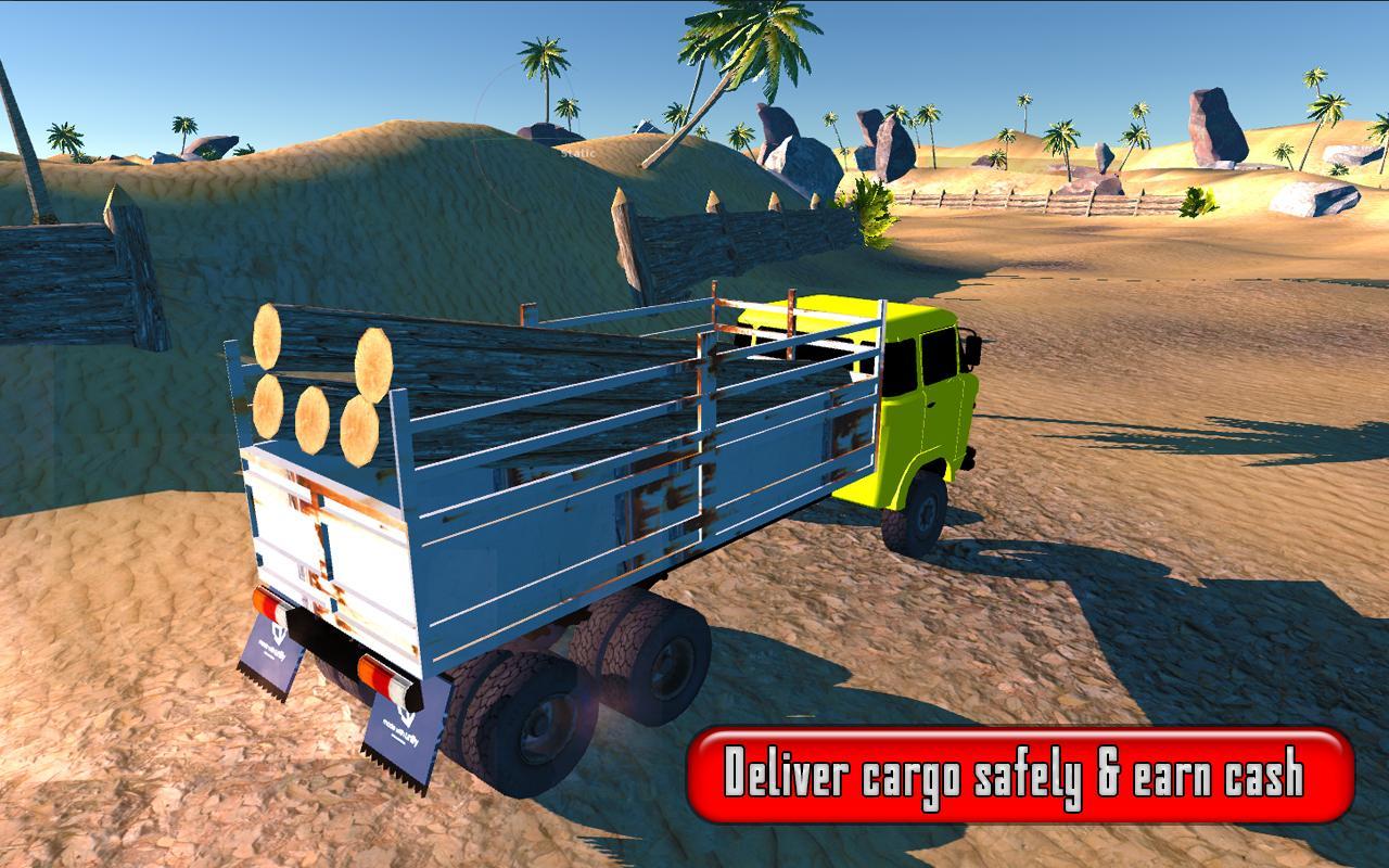 Offroad cargo truck game 2017 screenshot