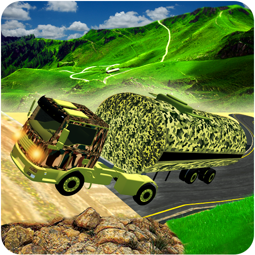 3D Army Oil Truck Driving (game)