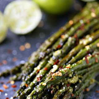 Skillet Asparagus with Lime Butter Recipe