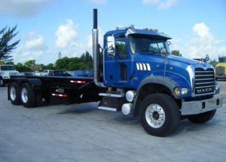 Photo: Mack CV713 Roll Off Truck