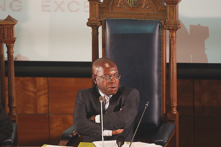 Judge Willie Seriti chaired the 2016 commission of inquiry into the arms deal. Picture: PUXLEY MAKGATHO