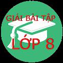 Lớp 8 Giải bài tập Toán Lý Hóa - Tiếng Anh - Văn.. icon