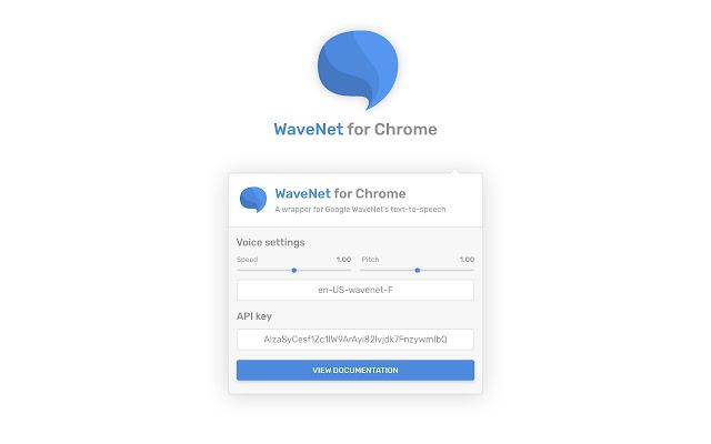 WaveNet for Chrome