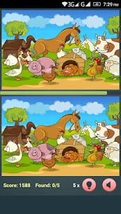 Find The Differences – Cartoon Spot The Difference 1.3.0 (MOD + APK) Download 3