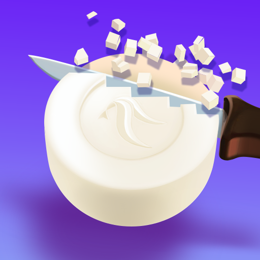 Soap Cutting Icon