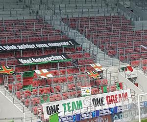 Afwezige Essevee-supporters komen met boodschappen voor Bossut, Deschacht, Pletincxk én ferme prik richting Pro League en Eleven Sports