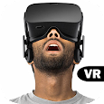 VR movies 3D Icon
