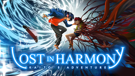 Lost in Harmony Screenshot