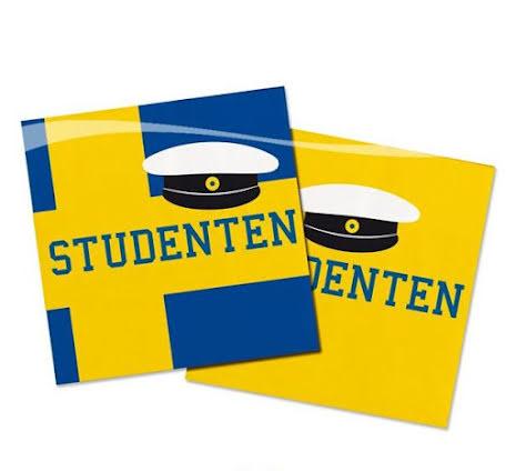 Servetter, student 20st
