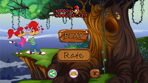 Woody super woodpecker Adventure Game