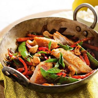 Crispy Chicken, Chilli and Basil Stir-Fry Recipe