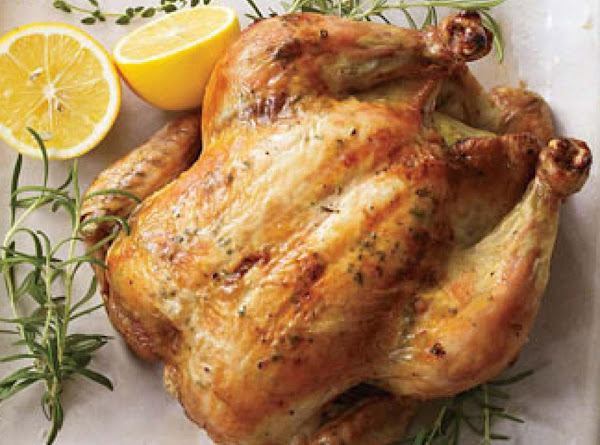 Perfect Lemon-herb Roated Chicken Recipe