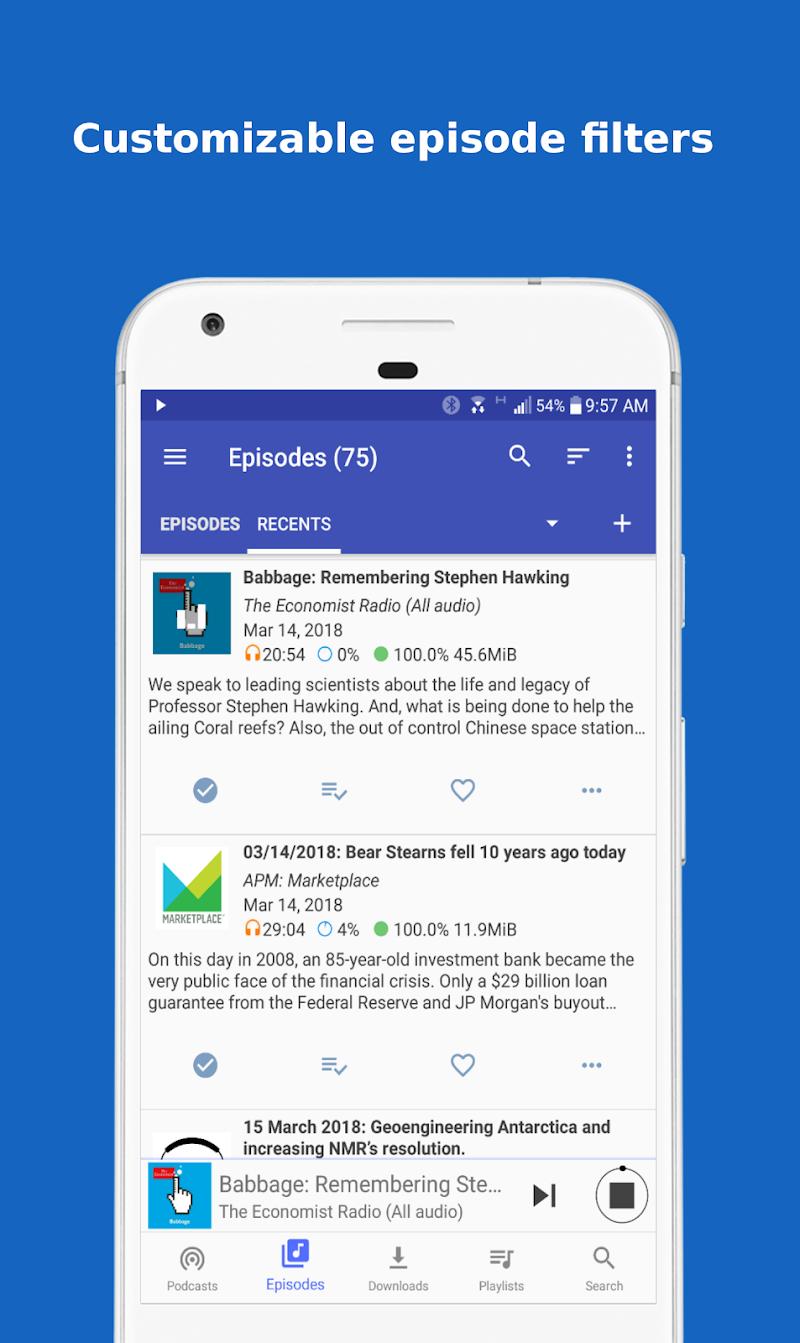 Podcast Republic - Podcast Player & Podcast App Screenshot 2