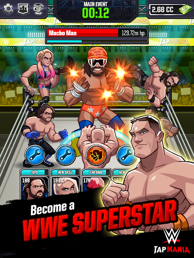 WWE Tap Mania: Get in the Ring in this Idle Tapper 17637.20.0 screenshots 7