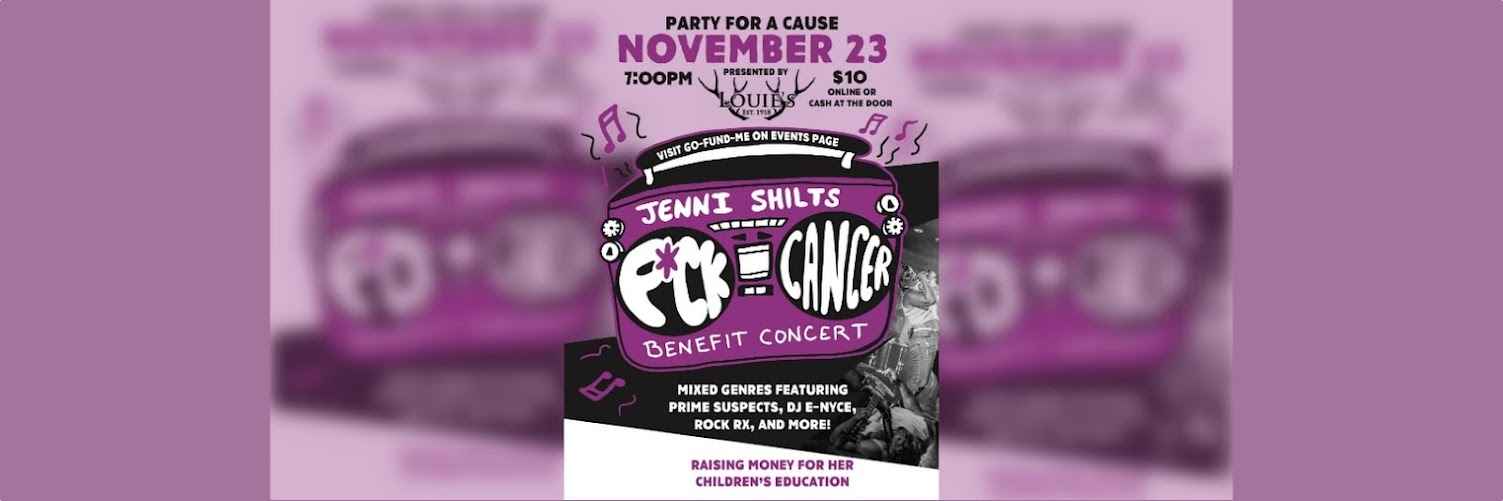 Party for a Cause | Jenni Shilts Benefit Concert November 23rd