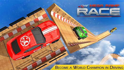 Mega ramp Race screenshot 1