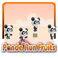 Panda Run Fruits world