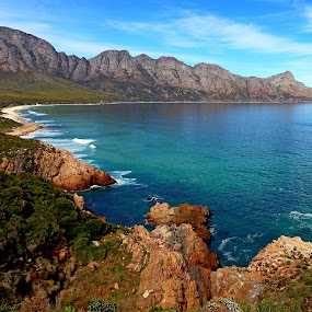 Clarence drive Kogelberg by René Wright - Landscapes Waterscapes ( surfing, kogelberg, south africa, nature up close, beauty in nature, tranquility, seascape,  )