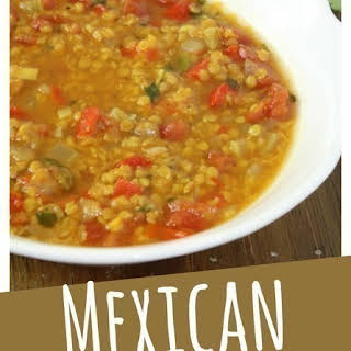Mexican Red Lentil Stew.