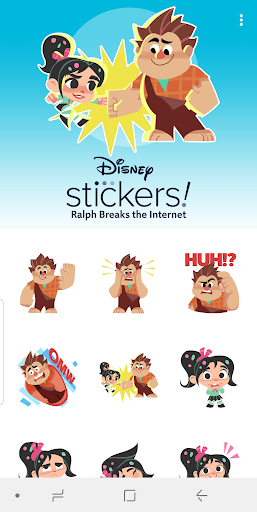 Screenshot for Ralph Breaks the Internet Stickers - WAStickers in United States Play Store