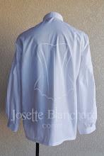 Photo: Camisa medieval em tricoline 100% algodão, com ilhós e cordão. Disponível também nas cores: preto e bege.    Site: http://www.josetteblanchard.com/  Facebook: https://www.facebook.com/JosetteBlanchardCorsets/  Email: josetteblanchardcorsets@gmail.com josetteblanchardcorsets@hotmail.com