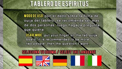 Guija Board Table Contact Espiritus Paranormal 1.0.3.0 screenshots 2