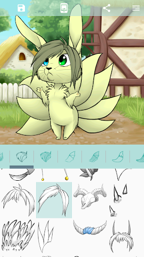 Avatar Maker: Fantasy Chibi screenshot 5