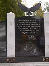Photo: Seymour IN -Veterans Memorial