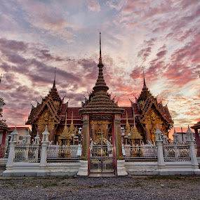 Temple by Charliemagne Unggay - Travel Locations Landmarks ( temple, pwclandmarks, landmarks, travel location, architecture )