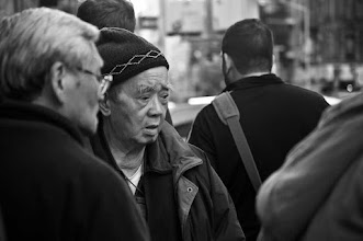 Photo: Shopping is a serious matter for some. Chinatown, NYC www.leannestaples.com #streetphotography