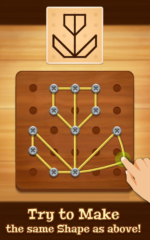 Line Puzzle: String Art poster 0