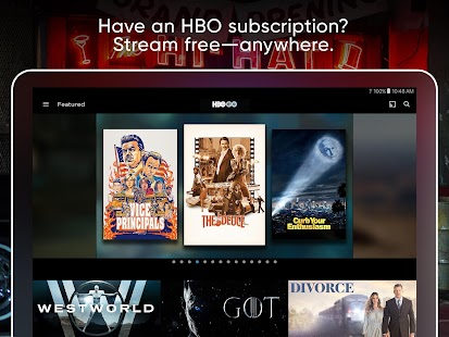 If You Have a Cable or Satellite Subscription That Includes HBO
