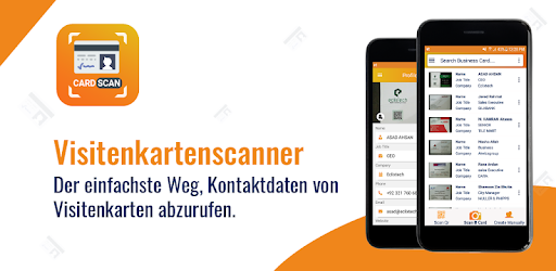 Visitenkartenscanner Kostenloser Kartenleser Apps Bei