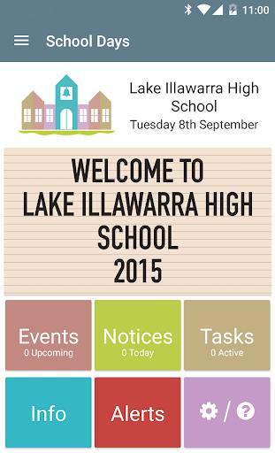 Lake Illawarra HS School Days