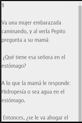 100 Chistes de Pepito - screenshot